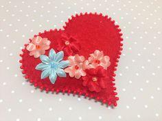 Felt heart, Felt heart pin Heart pin, Pink heart, Valentine gift, Felt jewelry, Felt valentine pin, Valentine pins, Valentine heart by SnowFelts on Etsy https://www.etsy.com/listing/493141178/felt-heart-felt-heart-pin-heart-pin-pink