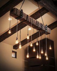 Ce style de luminaire confirme totalement mon addiction à la déco industrielle vintage. J'imagine tout à fait ces lampes dans un lo...