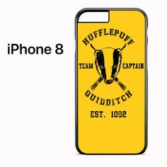 hufflepuff quidditch for iPhone 8 Harry Potter Phone Case, Iphone 8, Phone Cases, Phone Case