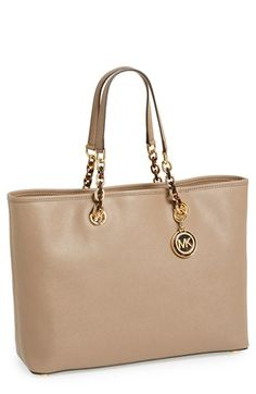 MICHAEL Michael Kors 'Large Cynthia' Saffiano Leather Tote available at #Nordstrom