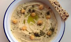Felicity's perfect hummus. Photograph: Felicity Cloake for the Guardian