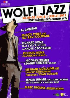 WOLFI JAZZ à Wolfisheim le 28.29.30 juin et 1 juillet