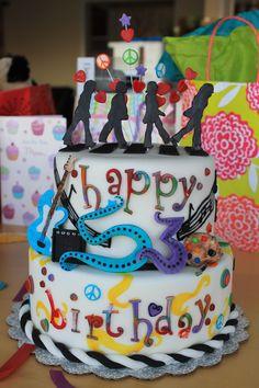 Beatles cake for 53rd birthday