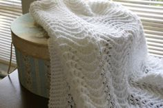 Count It All Joy!: Feather and Fan Baby Blanket