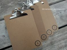 brown paper packages: {clipboards + wipes cases = easy coloring kits for kids}