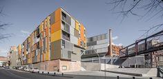 Bloques De Viviendas y Urbanización en Manresa / Pich-Aguilera Architects