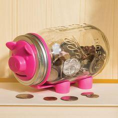 Mason Jar Piggy Bank Kit!  :)