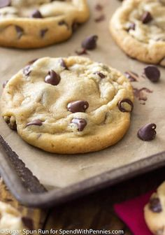 These chocolate chip cookies have been carefully crafted to be perfectly soft, perfectly chewy, and just all around perfectly delectable. You'll never need another cookie recipe again!