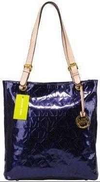 2012 Michael Kors Jet Set Navy Handbags Outlet