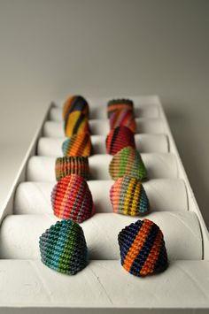Makramee-Ringe von AMiRAjewelry auf Etsy