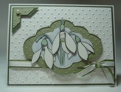 snowdrop paper cut - Google Search