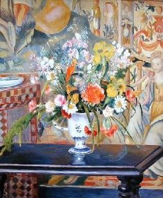 Pierre-Auguste Renoir - Vase of Flowers