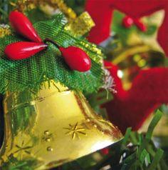 Holiday Company Card - Bells, Christmas, Holly, FairMail - Holiday Fair Trade Cards - FMCX102
