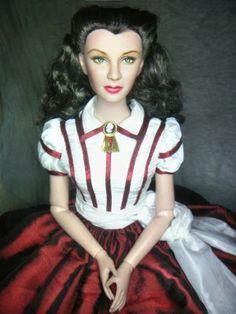Scarlett O´hara doll