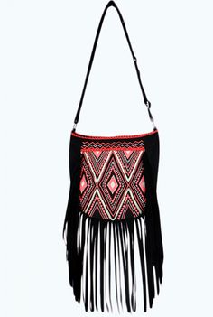 Embroidered Fringe Crossbody | And It Only Cost Me: 11 Festival Finds under $90 | The Everygirl