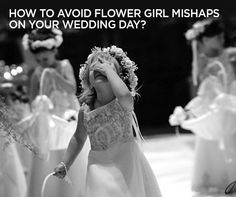 How to avoid Flower Girl mishaps on your wedding day? Check out Colin Cowie's answer: http://www.colincowieweddings.com/ask-colin/etiquette/how-to-avoid-flower-girl-mishaps-on-your-wedding-day