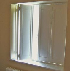 internal victorian solid panel window shutters - Google Search