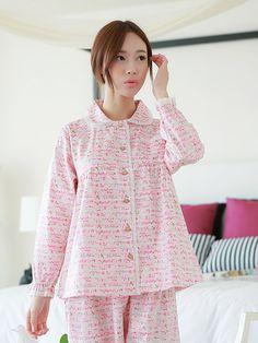 Banibella Flower Garden homewear sleepwear / cotton / the best quality Cotton Sleepwear, Sleepwear Women, Pajamas Women, Loungewear, Best Pajamas, Cute Pajamas, Pyjamas, Pjs, Pink Outfits