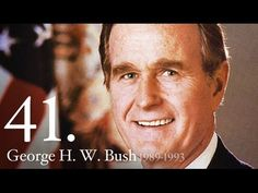 AMERICAN HISTORY: 41 George Bush - YouTube