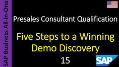SAP - Course Free Online: 15 - Five Steps to a Winning Demo Discovery