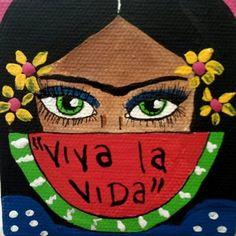 Resultado de imagen para vive la vida frida kahlo