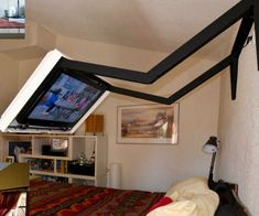 Extended Flip Out TV Wall Mount