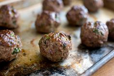 Meatballs With Any Meat - ratios and add-on tips