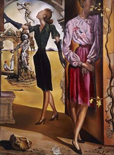 "Salvador Dalí: Untitled Dali Eyes Fashion for ""Vogue"". L'art Salvador Dali, Salvador Dali Paintings, Salvador Dali Quotes, Kandinsky, Picasso Cubism, Magritte, Joan Miro, Modern Artists, Vogue Magazine"