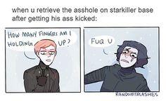 savage af #starwars #kyloren #theforceawakens #generalhux #kylux #starwarsart #adamdriver #starwarsfan #tumblr #randomsplashes