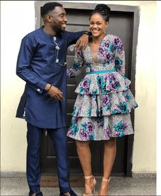 Banky W, Toyin Abraham, others praise Timi Dakolo for standing by his wife, Busola, as she reveals how Pastor Biodun Fatoyinbo allegedly raped her at 17 African Dresses For Kids, African Maxi Dresses, Latest African Fashion Dresses, African Print Fashion, African Attire, Modern African Dresses, Traditional African Clothing, Ideias Fashion, Ankara Styles