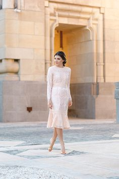 Dainty Jewell's modest Sweet Peony Dress – Styled by Larisa Costea of The Mysterious Girl blog