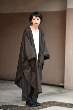 YANTOR   Wool Haori Coat