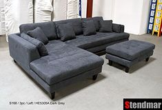 This awesome photo selections about Dark Grey Microfiber Sofa is available to save. Sofa Inspiration, Sofa Images, Cheap Leather Sofas, Sofa Pictures, Dark Grey Sectional Couch, Sectional Couch, Sectional Sofa, Microfiber Sofa, Living Room Sofa