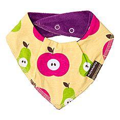 Organic Dribble Bib Apple Pear by Maxomorra