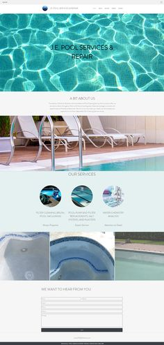 J.E. Pool Services and Repair | Pool Cleaning Service