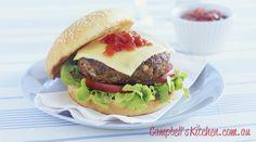 Tasty hamburgers