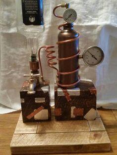 Liquor Dispenser Steampunk / Moonshine Still door thatbeardedguy76