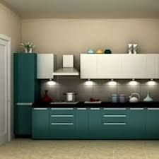 turquoise cabinets are a great colour