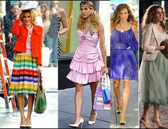#outfit inspiration from the one and only Carrie Bradshaw....see how anyone can dress like this icon with these #tips