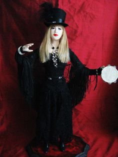 Stevie Nicks doll.  The costume is perfect!