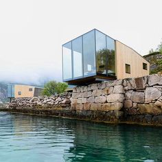 the adventure resort on manshausen island has been designed by architect snorre…