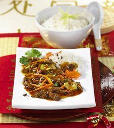 """Unser beliebtes Rezept für Rindfleisch """"Szechuan Art"""" und mehr als 55.000 weitere kostenlose Rezepte auf LECKER.de."""