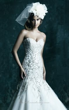 Allure C241 by Allure Bridals Couture.  Love the fit of this.