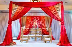 Suhaag Garden, Florida, Wedding Decorator, Indian Wedding Decorator, Mandap, Fabric Mandap