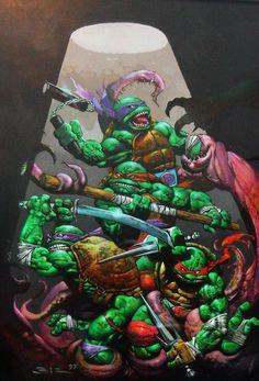 Teenage Mutant Ninja Turtles by Simon Bisley