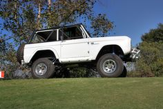 The original Bronco was an ORV (Off-Road Vehicle), intended to compete primarily with Jeep CJ models and the International Harvester Scout.
