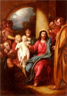"""August 9th - Matthew 18:1-5,10,12-14: The disciples approached Jesus and said, """"Who is the greatest in the Kingdom of heaven?"""" He called a child over, placed it in their midst, and said, """"Amen, I say to you, unless you turn and become like children, you will not enter the Kingdom of heaven. Whoever becomes humble like this child is the greatest in the Kingdom of heaven."""