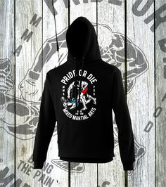 bb5dd6e8d Bring the Pain MMA Hoodie MMA Fighters design ready for the cage.  #lahfabrics #