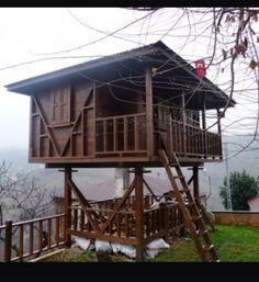 M Black Sea, Istanbul, Villa, Cabin, Landscape, House Styles, Places, Beautiful, Home Decor