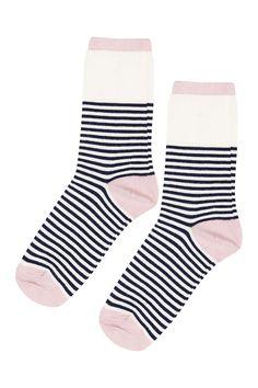 Breton Stripe Ankle Sock
